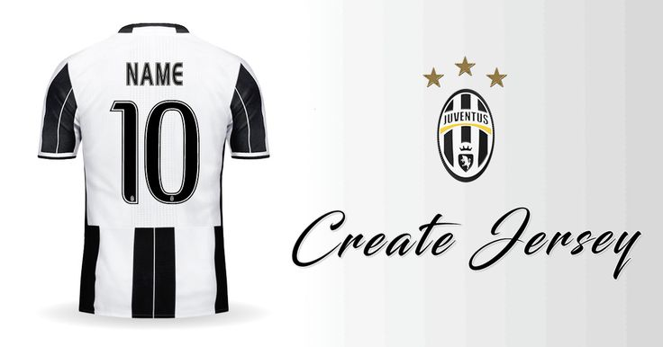 Personalized Juventus FC 2016/2017 jersey. Customize your own Juventus FC 2016/2017 Create your own personalized Juventus FC 2016/2017
