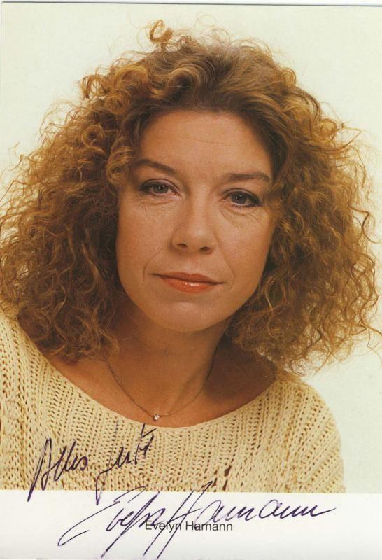 Evelyn Hamann Hamburger Schauspielerin und Synchronsprecherin + 28.10.2007