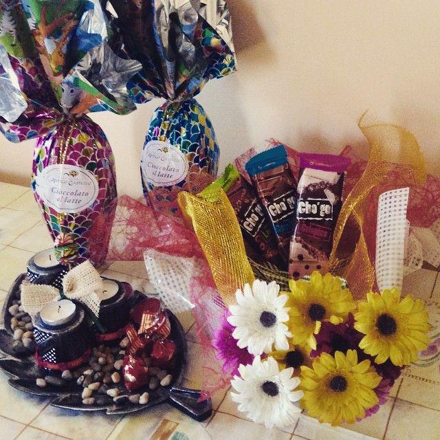Il bimbo di casa mi ha inondato di cioccolata per Pasqua 2015