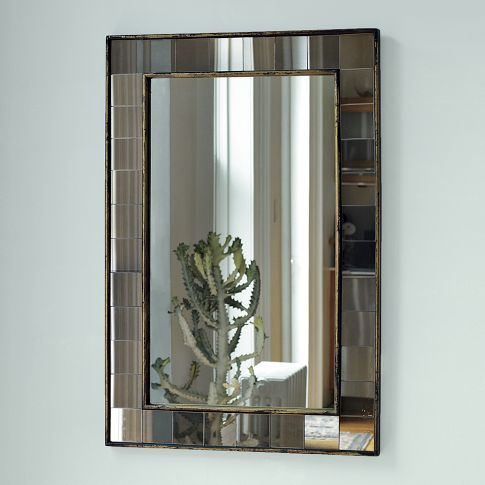 Antique Tiled Wall Mirror | west elm