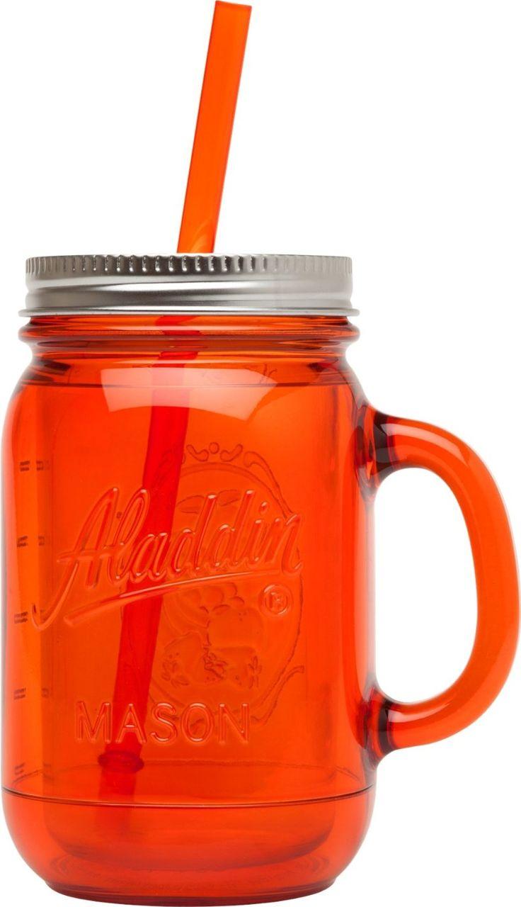 Amazon aladdin coffee mugs - Amazon Com Aladdin Original Insulated Mason Tumbler Tomato Kitchen Dining