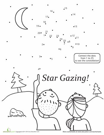 Connect the Dots Star Gazing Camping Theme FLT Lesson
