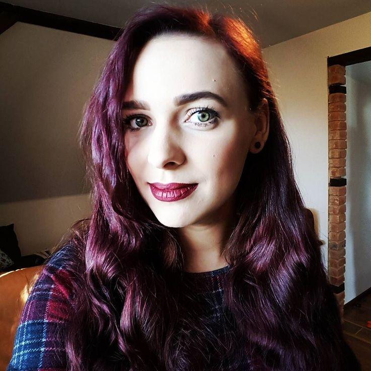 Trochę jesiennie ale to moje ukochane kolory  #makijaż #makijaz #makeup #motd #sephora #toofaced #goldenrosepolska #syoss #purple #aubergine #hair #longhair #autumn #mamakakaludka #blog #parentingowy #poznan #poland #polska #poznań #kakaludek #polishgirl #polish #polskadziewczyna