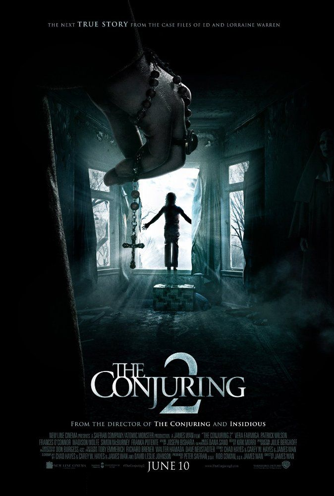 THE CONJURING 2 (2016): Lorraine and Ed Warren travel to north London to help a single mother raising four children alone in a house plagued by a malicious spirit.