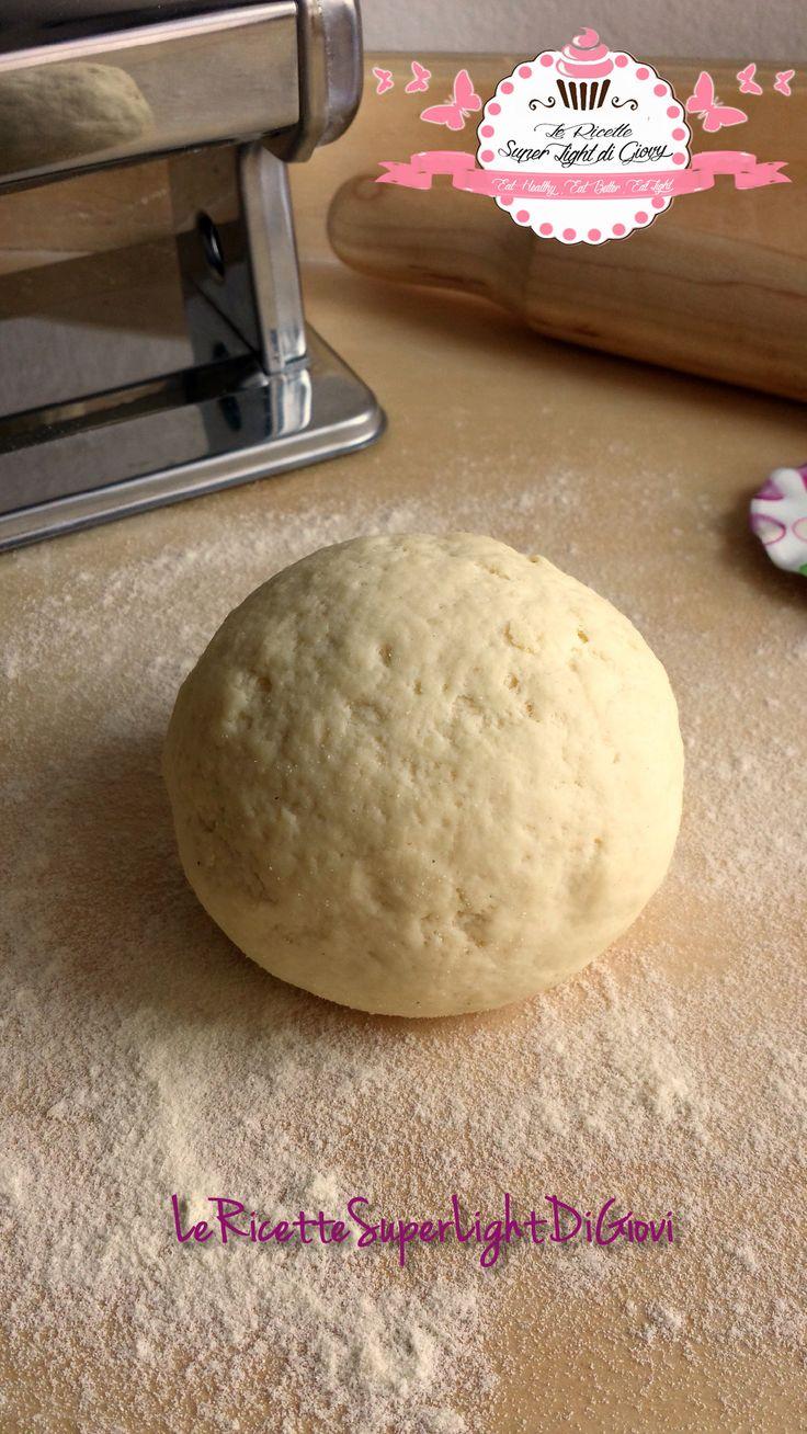 Pasta fresca fatta in casa – impasto base senza uova (219 calorie) | Le Ricette Super Light Di Giovi