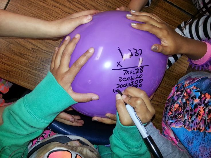 Engagement Strategy...use balloons! Maybe a solve, pass, solve for upper grades? Could be a fun Friday activity to practice strategies learned that week