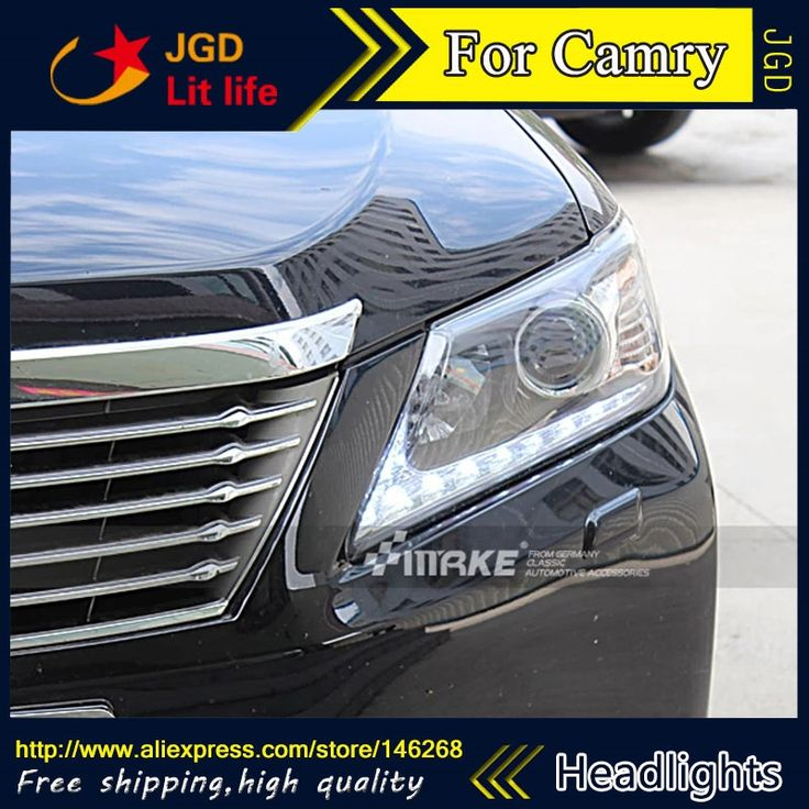 554.60$  Buy now - http://alijs5.worldwells.pw/go.php?t=32743750915 - Free shipping ! Car styling LED HID Rio LED headlights Head Lamp case for Toyota Camry 2012 Bi-Xenon Lens low beam
