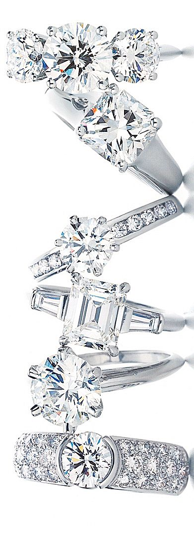 Tiffany Rings.... I think I've pinned this sooo many times but this is perfect...