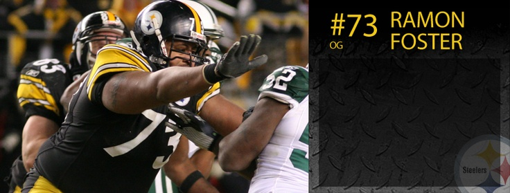 Pittsburgh Steelers: Ramon Foster