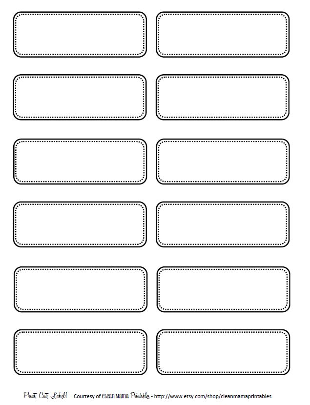 Labels, Labels Toy labels, Pantry labels and Printable labels - binder spine template