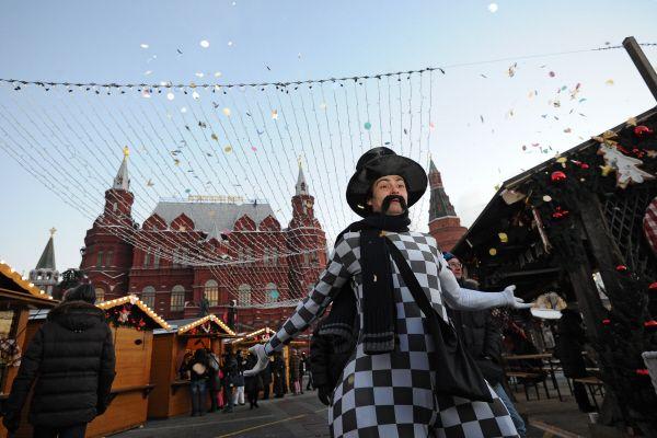 Рождественские рынки - теперь и в Москве!