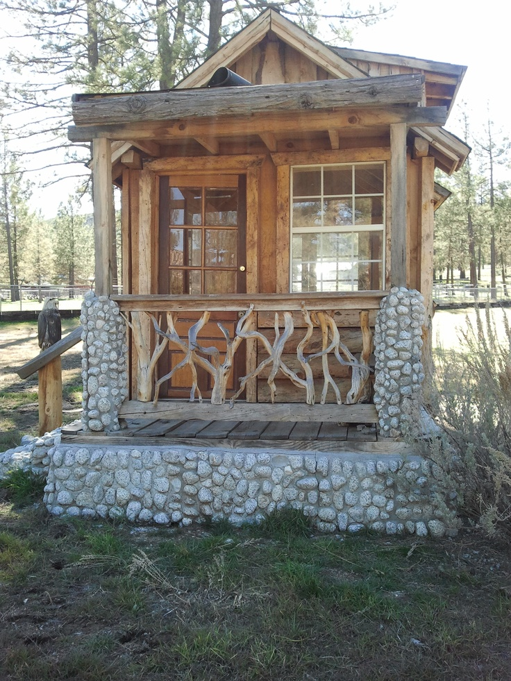 unusual cheap cabin ideas. Tiny cabins  actually whimsical outbuildings spotted outside Pinon Flats California on our Palms 797 best Homes images Pinterest Small houses house
