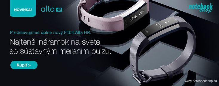Fibit Alta HR, je najtenší tracker od Fitbit, ktorý umožňuje sústavné snímanie pulzu technológiou PurePulse. Kombinuje fitnes funkcie a elegantný design. Sleduje Vašu celodennú aktivitu, spánok, automaticky rozoznáva športové aktivity a upozorní Vás, kedy sa máte hýbať.