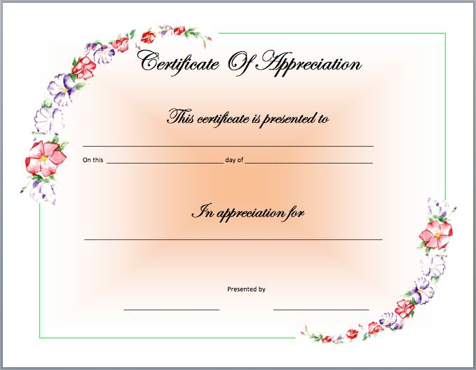 179 best template images on pinterest certificate templates recognition certificate template yelopaper Gallery