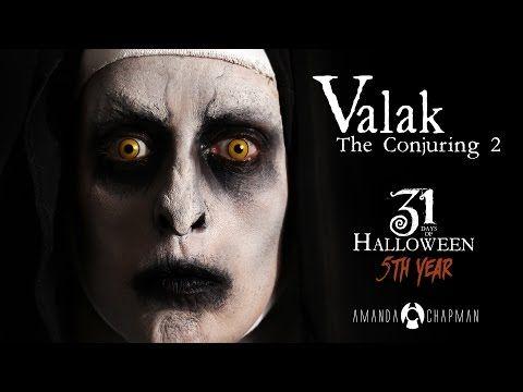 Valak - The Conjuring 2 Nun Makeup / 31 Days Of Halloween Series - YouTube