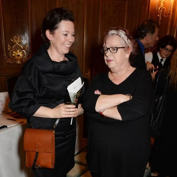 Via @GHMagazine — Olivia Colman and Jo Brand at The Eve Appeal