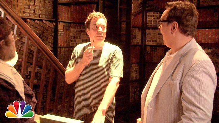 Host Jimmy Fallon and Steve Higgins Visit Diagon Alley at The Wizarding World of Harry Potter on 'The Tonight Show'