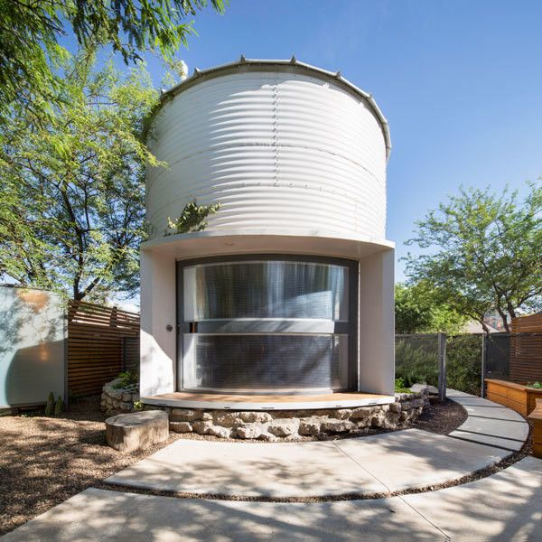 How One Couple Turned A Grain Silo Into A Home In 2019