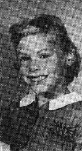 Childhood photo of Aileen Wuornos