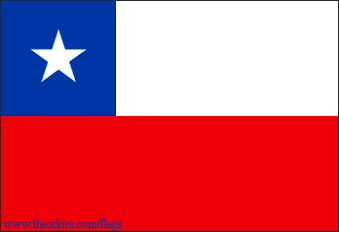 Chilean Flag🔹🔹💥FLAGS OF THE WORLD : More Pins Like This At FOSTERGINGER @ Pinterest 💥🔹🔹