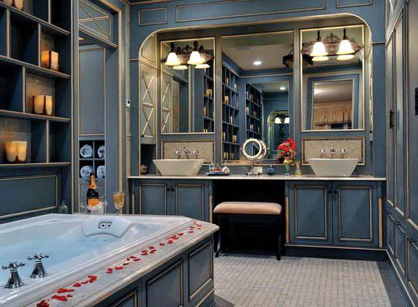 Ванная комната в стиле французский кантри :: Фото красивых интерьеров
