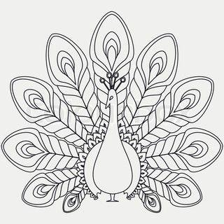 Resultado de imagen para patrones de pavo real para bordar