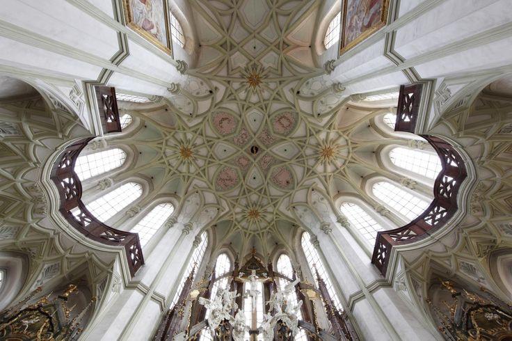 Jan Blažej Santini-Aichel / kladrubský klášterní kostel Nanebevzetí Panny Marie, sv. Wolfganga