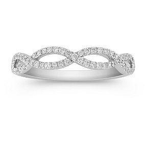 Shane Co. 1/4 Ct. T.w. Round Diamond Ring. This Unique Design