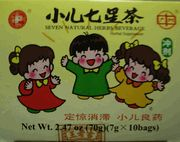 Herbal Tea Supplement GREAT for diagestion.  Tastey and/or good through G-Tube.    http://www.eyanghealth.com/children-seven-natural-herbs-beverage--xiao-er-qi-xing-cha.html