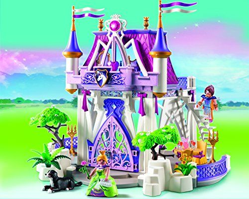 Playmobil Princess - Castillo de cristal Playmobil 5474 - Crystal Palace - Princess Temática: Castillos Precioso castillo Playmobil de cristal con ton