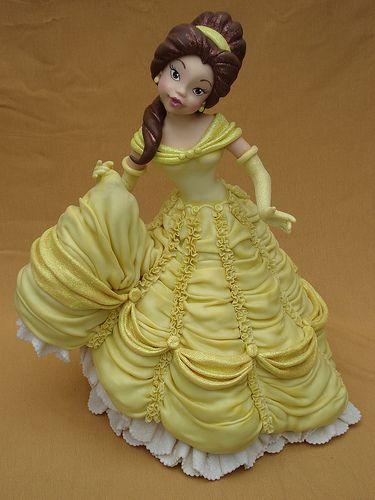 Cake Topper Belle