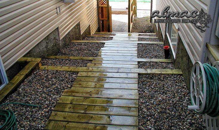Almac Landscapes Ltd - Wood Stair Services