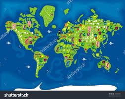 Kuvahaun tulos haulle cartoon map