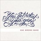 """Check out """"No Hurry"""" - Zac Brown Band, You Get What You Give."""