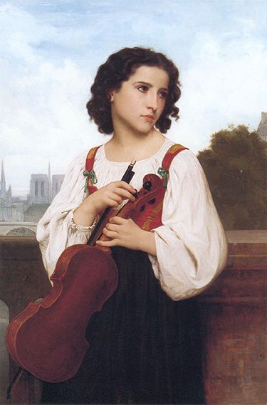 William-Adolphe Bouguereau, Alone in the World (c. 1867)