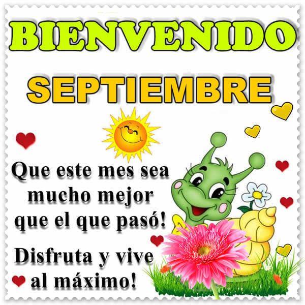 Frases bonitas de septiembre - Musica - Hoy musica romantica