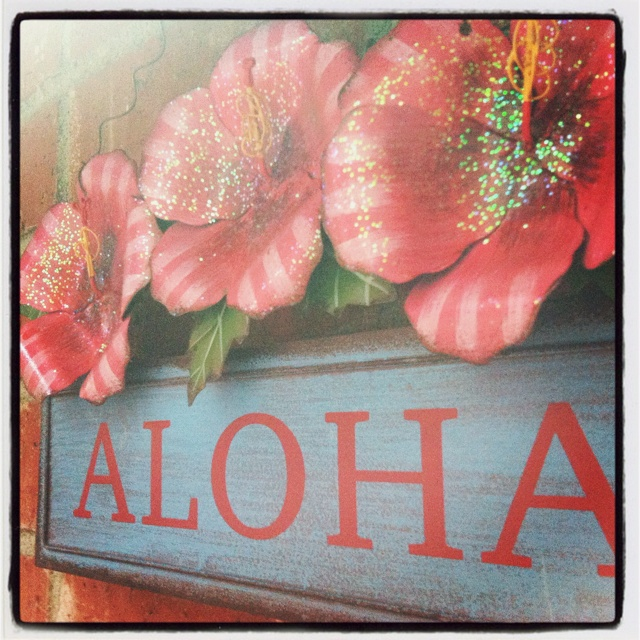 Cute. Found one just like this at big lots for my Hawaiian room