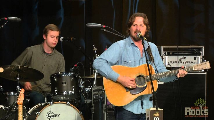 """Sturgill Simpson performing """"Long White Line"""" at Music City Roots live from the Loveless Cafe on 10.30.2013"""