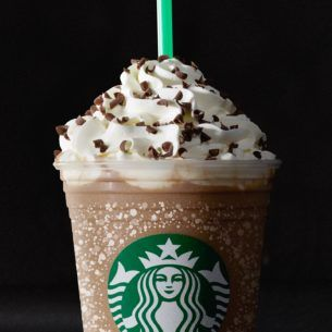 Peppermint Mocha Frappuccino® Blended Coffee   Starbucks Coffee Company