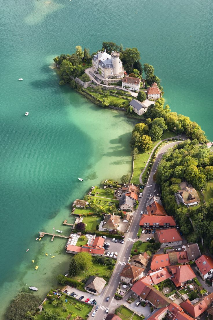 Ruphy castle, Annecy lake, France