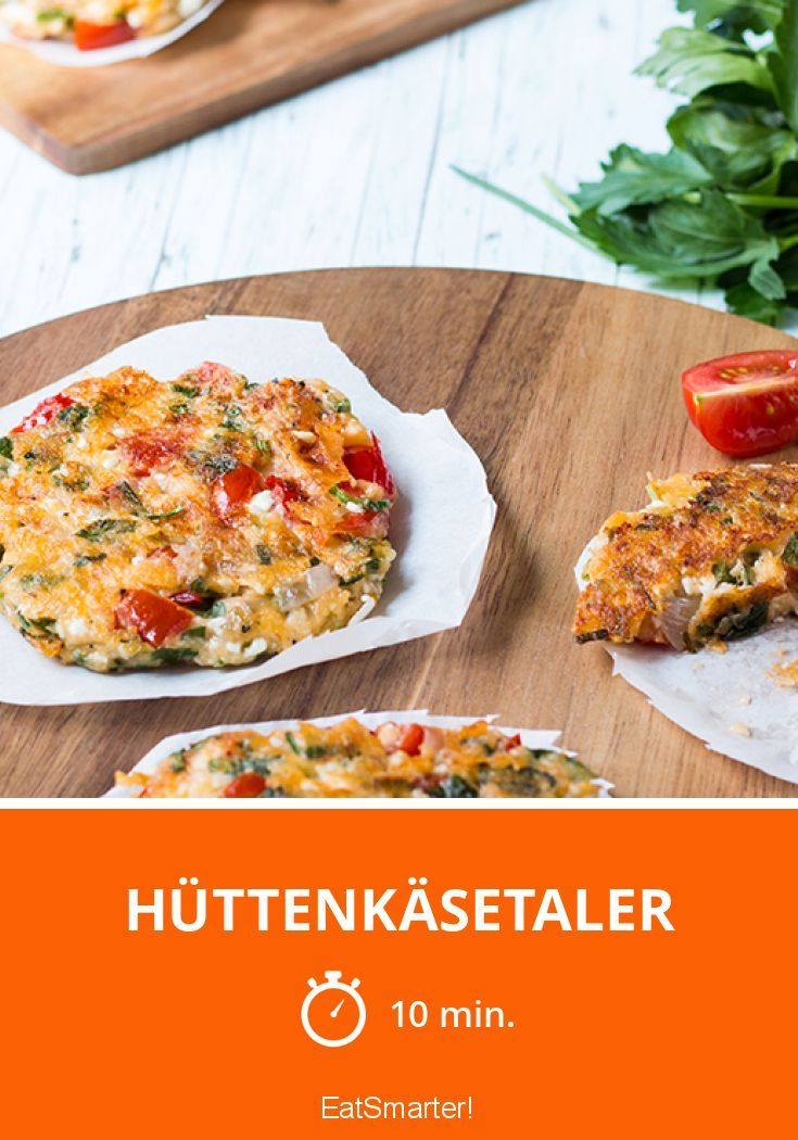 Hüttenkäsetaler - smarter - Kalorien: 67 Kcal - Zeit: 10 Min. | eatsmarter.de