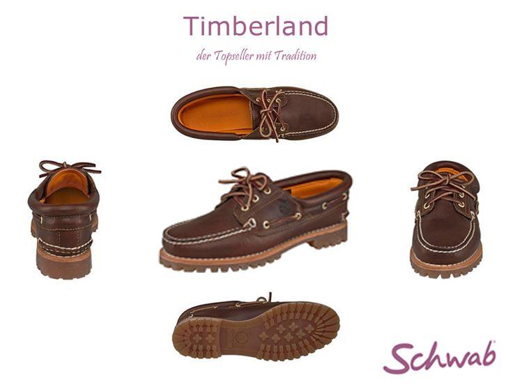 Die traditionellen Bootsschuhe von #Timberland sind ein echter Klassiker!
