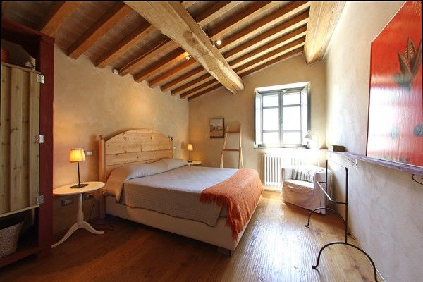 #bedroom with typical #features #wooden #beam