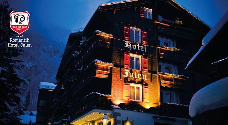 泊ってみたいホテル・HOTEL|スイス>ツェルマット>ケーブルカー乗り場から徒歩10分に位置>ロマンティック ホテル ユーレン スーペリア(Romantik Hotel Julen Superior)   http://keymac.blogspot.com/2014/11/hotel10-romantik-hotel-julen-superior.html?spref=tw
