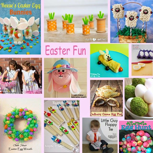 Block Party: Easter Fun Projects Features - Rae Gun Ramblings