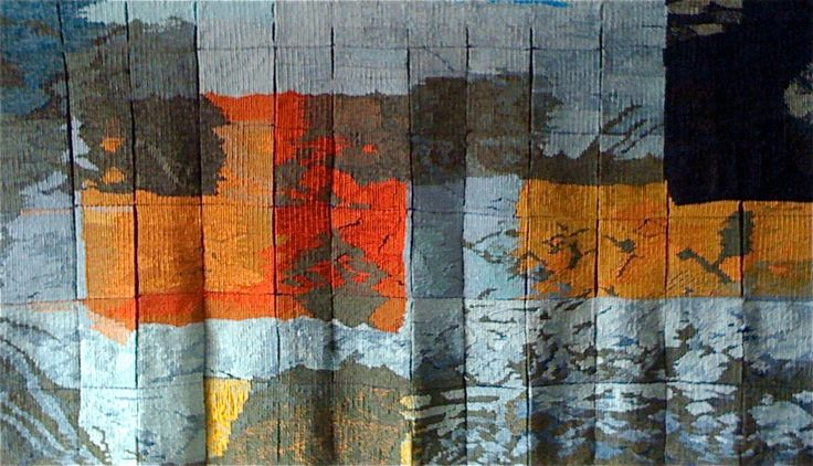 Canada Days, handwoven tapestry