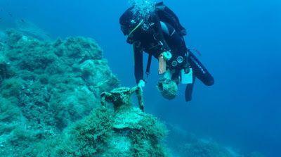 Αρχαία αντικείμενα ναυάγια και σημαντικά κινητά ευρήματα εντοπίστηκαν στη Δήλο