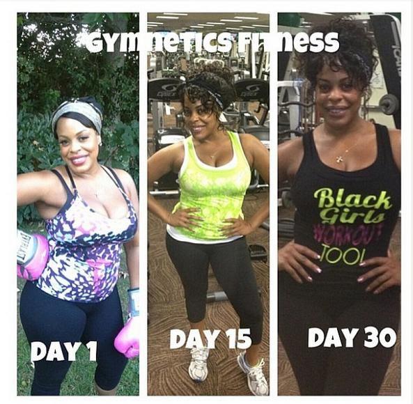 black women working out | Black Girls Workout Too results Niecy Nash Black Girls Workout Too
