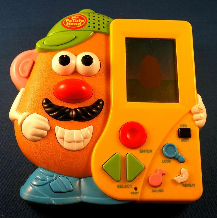 Electronic Toys For Preschoolers : Mr potato head electronic handheld hasbro board game