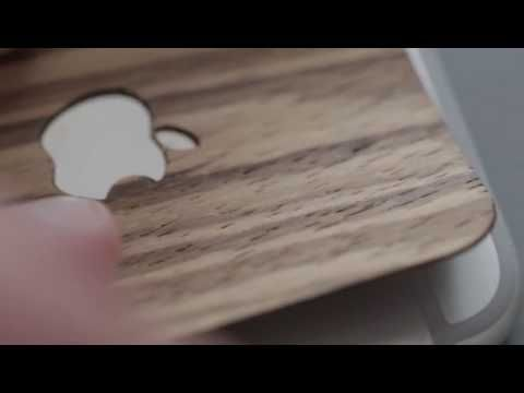#blackfriday & #cibermonday coupon: BKLACKSAHATT Natural #wood to dress your #macbook #iPad and iPhone. Handmade wooden covers for #mac lovers Do you like our video?
